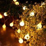 Yasolote 9.5M 50 LED Guirlande Lumineuse, 8 Modes Multicolore Avec EU-Prise, Lumières de Noël d'intérieur et Extérieures Pour Jardin, Maison, Balcon (Blanc Chaud) de la marque Yasolote image 3 produit