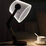 YL-Light 3D Simple LED Lampe De Table Soin des Yeux Acrylique Bois Creative Nuit Lumière Chambre Chevet Lampe De Bureau Hôtel Décorations de la marque YL-Light image 1 produit