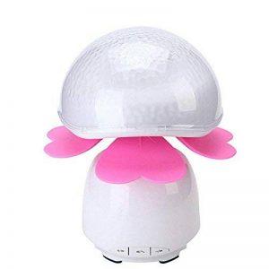 YL-Light Tactile Projecteur Nuit Lumière Bluetooth Haut-Parleur Lampe Mobile Charge Po Portable pour Chambre Restaurant Hôtel Café Enfants Cadeau Lampe De Table,Pink de la marque YL-Light image 0 produit