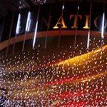 ZEARO 30cm 8 Tubes 144 LED Lumineux Pluie de Météore Guirlandes Lumineuses Extérieur pour Mariage Fête Noël Soirée de la marque ZEARO image 3 produit