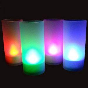 Zen'Light SCL02 Bougie LED avec Photophore/Fonction Souffler Multicolore de la marque Zen Light image 0 produit