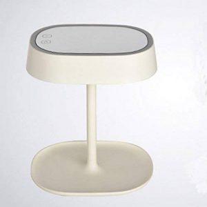 ZI LING SHOP- Maquillage Miroir Table Lampe Dresser Miroir Princesse De Mariage Cadeau De Mariage Charge Light Touch LED Lampe De Bureau (Couleur : Blanc) de la marque ZI LING SHOP image 0 produit