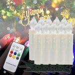 zreal 10/20/30pcs sans fil RGB LED Lumière de Bougie Télécommande Décoration de Fête de éclairage de noël 30pcs de la marque ZREAL image 4 produit