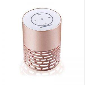 ZT Le haut-parleur de Bluetooth allume la lampe colorée de chevet de lumières audio de contact de Bluetooth , rose gold de la marque FSEF image 0 produit